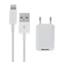 2az1-ben töltő szett Apple készülékekre -EU dugóval és Lighting csatlakozóval
