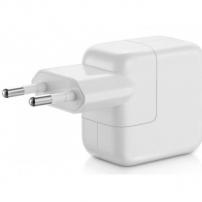 Eredeti töltő / adapter 12W EU bemenettel és USB konektorral Apple iPhone / iPad / iPod - fehér