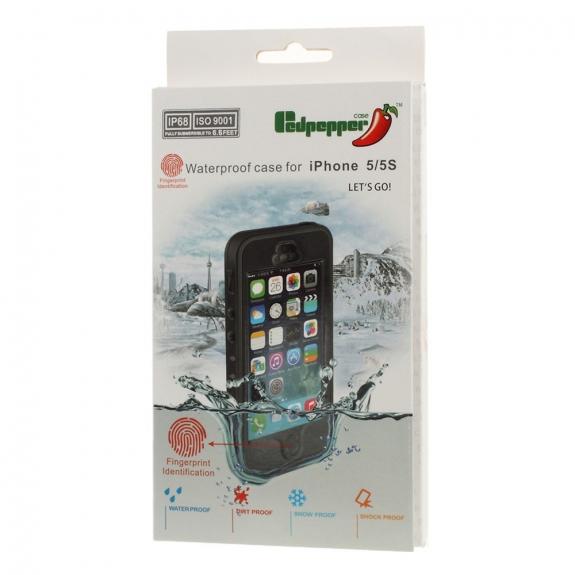 Vízálló borító tok ujjlenyomattal Apple iPhone 5 5S