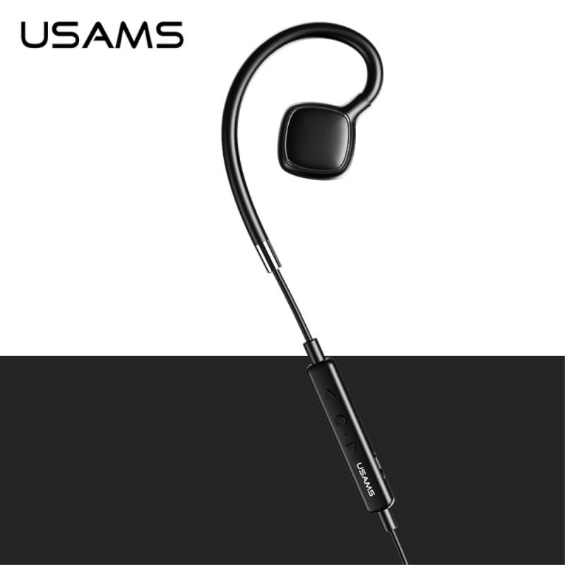 USAMS sportos vízálló fülhallgató vezeték nélküli Bluetooth csatlakozással  Apple iPhone - fekete ... b4a9549c5a