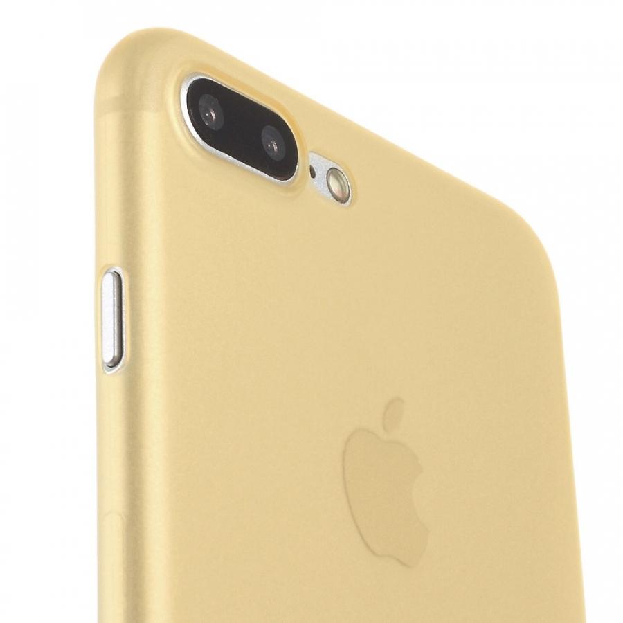 b9796edfd7 ... Ultra vékony 0.3mm matt tok - Apple iPhone 8 Plus / 7 Plus - arany ...