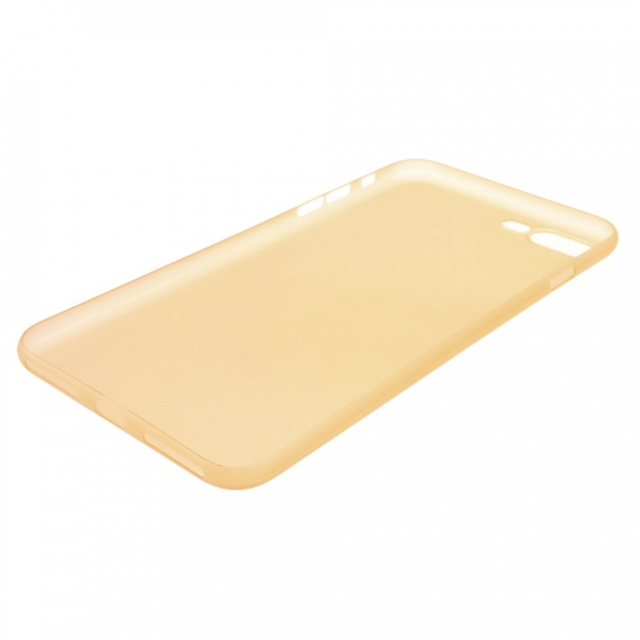 bcda80b9d4 ... Ultra vékony 0.3mm matt tok - Apple iPhone 8 Plus / 7 Plus -  narancssárga ...