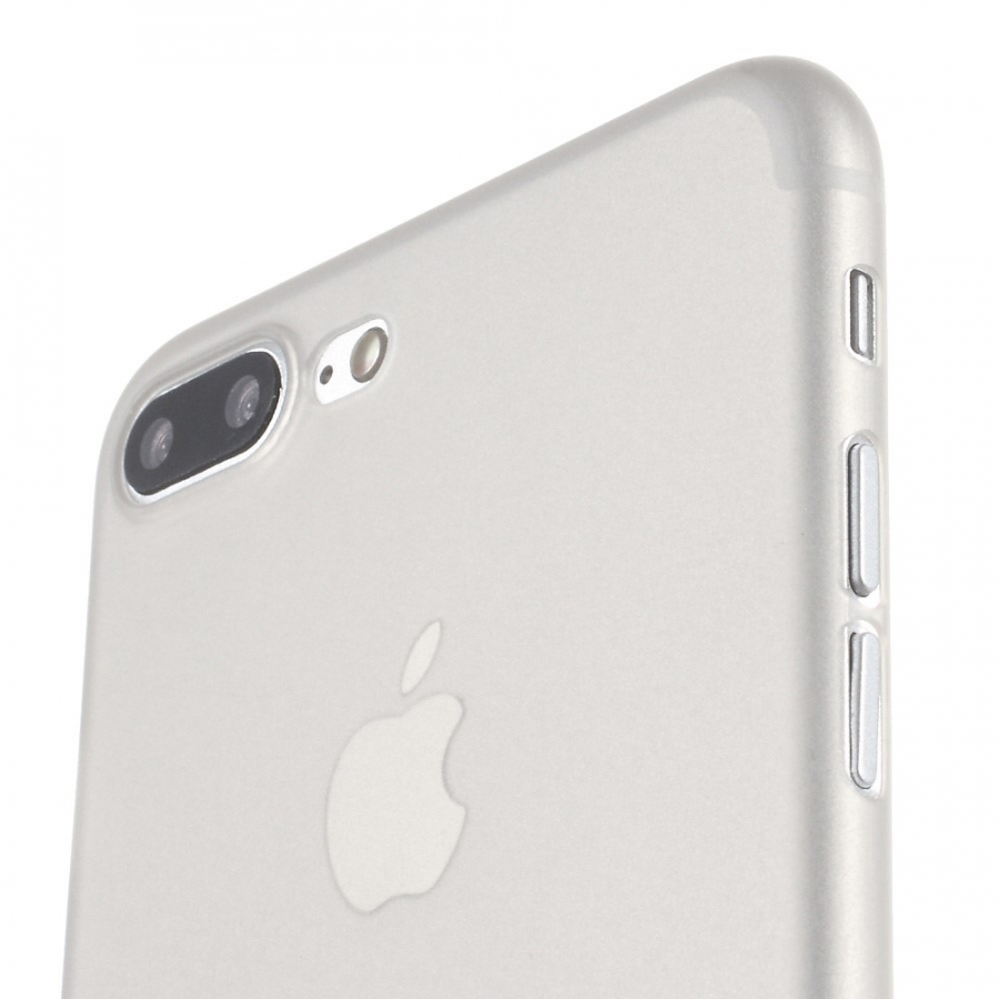 411e1c67b9 ... Ultravékony 0.3 mm matt tok - Apple iPhone 8 Plus / 7 Plus - szürke ...