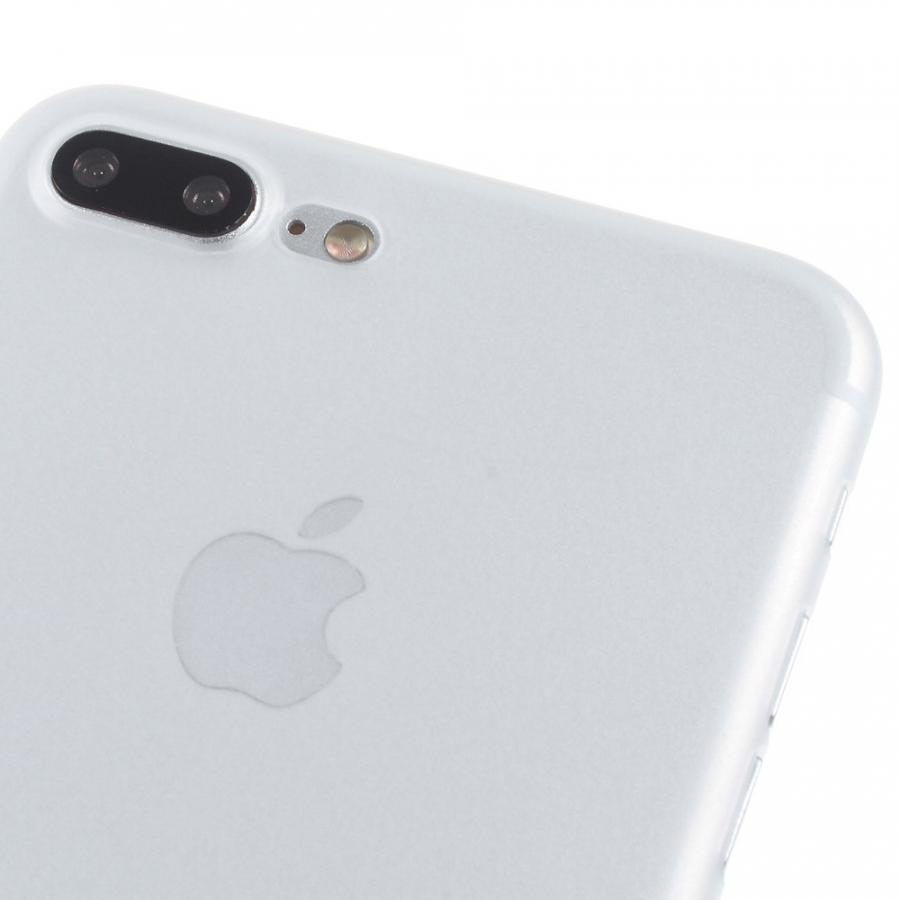 7a84208554 ... Ultra vékony 0.3mm matt tok - Apple iPhone 8 Plus / 7 Plus - fehér ...