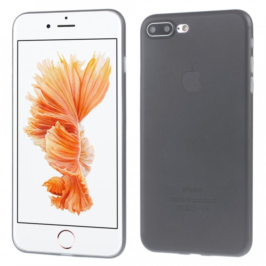 d095b4cb01 Ultravékony 0.3 mm matt tok - Apple iPhone 8 Plus / 7 Plus - fekete ...