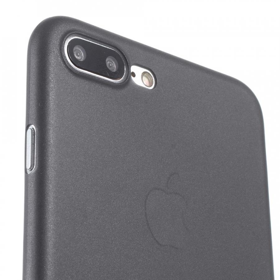 619718703c ... Ultravékony 0.3 mm matt tok - Apple iPhone 8 Plus / 7 Plus - fekete ...