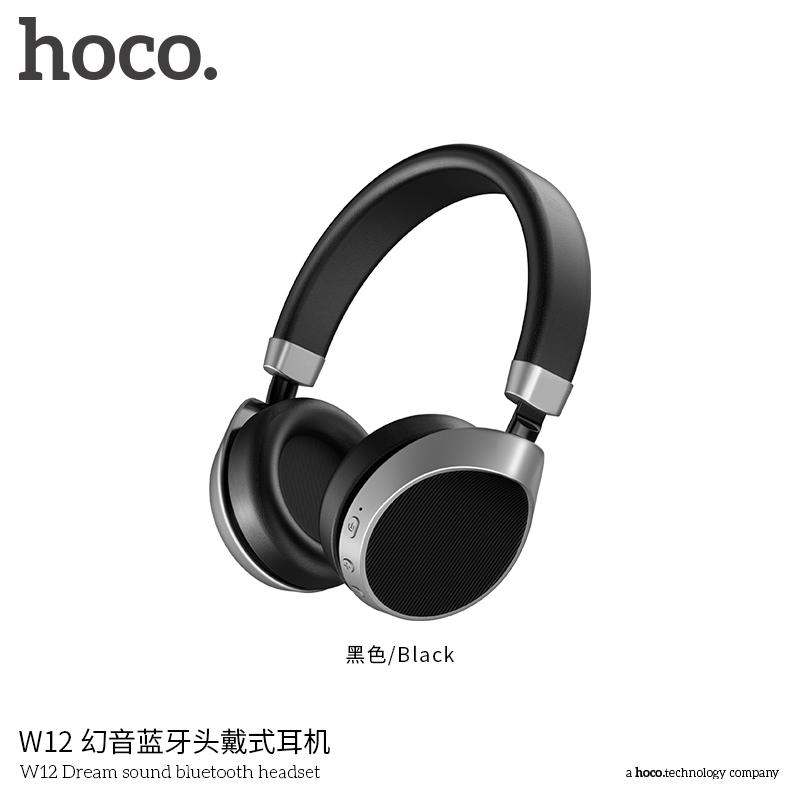 HOCO hajlítható vezeték nélküli Bluetooth fülhallgató Apple iPhone iPod fekete