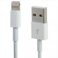 Szinkronizáló és töltő kábel lightning - Apple iPhone / iPad / iPod - 1m - fehér
