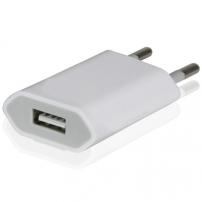 Töltő / adapter - iPhone / iPad Touch (5V / 1A) - fehér
