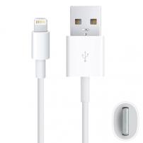 Szinkronizáló és töltő kábel lightning - Apple iPhone / iPad / iPod - 2m - fehér