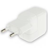Töltő / adapter 10W EU dugóval (A1401) pro Apple iPhone / iPad / iPod-ra - fehér – TOP minőség