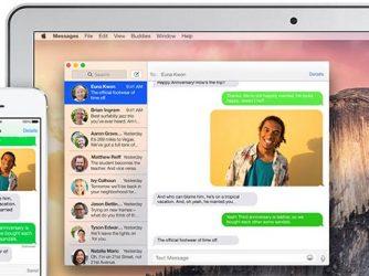 Jak aktivovat posílání SMS na Macu