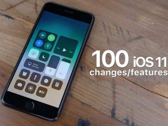 100 nových funkcí, které najdete v iOS 11