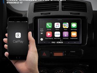 Alpine představila bezdrátový systém do vozidel s CarPlay