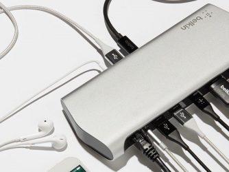 Dokovací stanice iPhone připojí k MacBooku a získáte ještě další porty