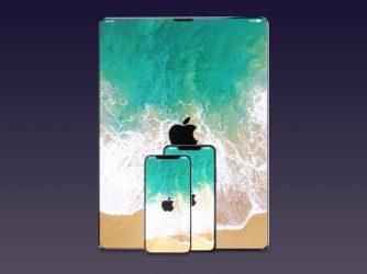 Rámeček na iPhone X už nenajdete. Jak by bez něho vypadal MacBook, iMac a iPad?