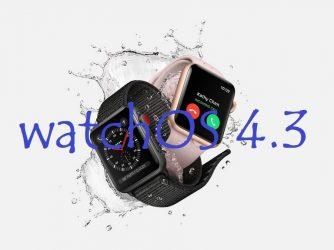 Nový watchOS 4.3 přináší několik zlepšení