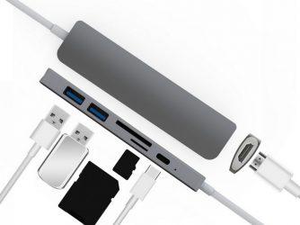 Připojujte k Macbooku cokoliv s USB-C rozbočovačem