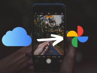 Návod jak přesunout fotky z Fotek na iCloudu do Fotek Google