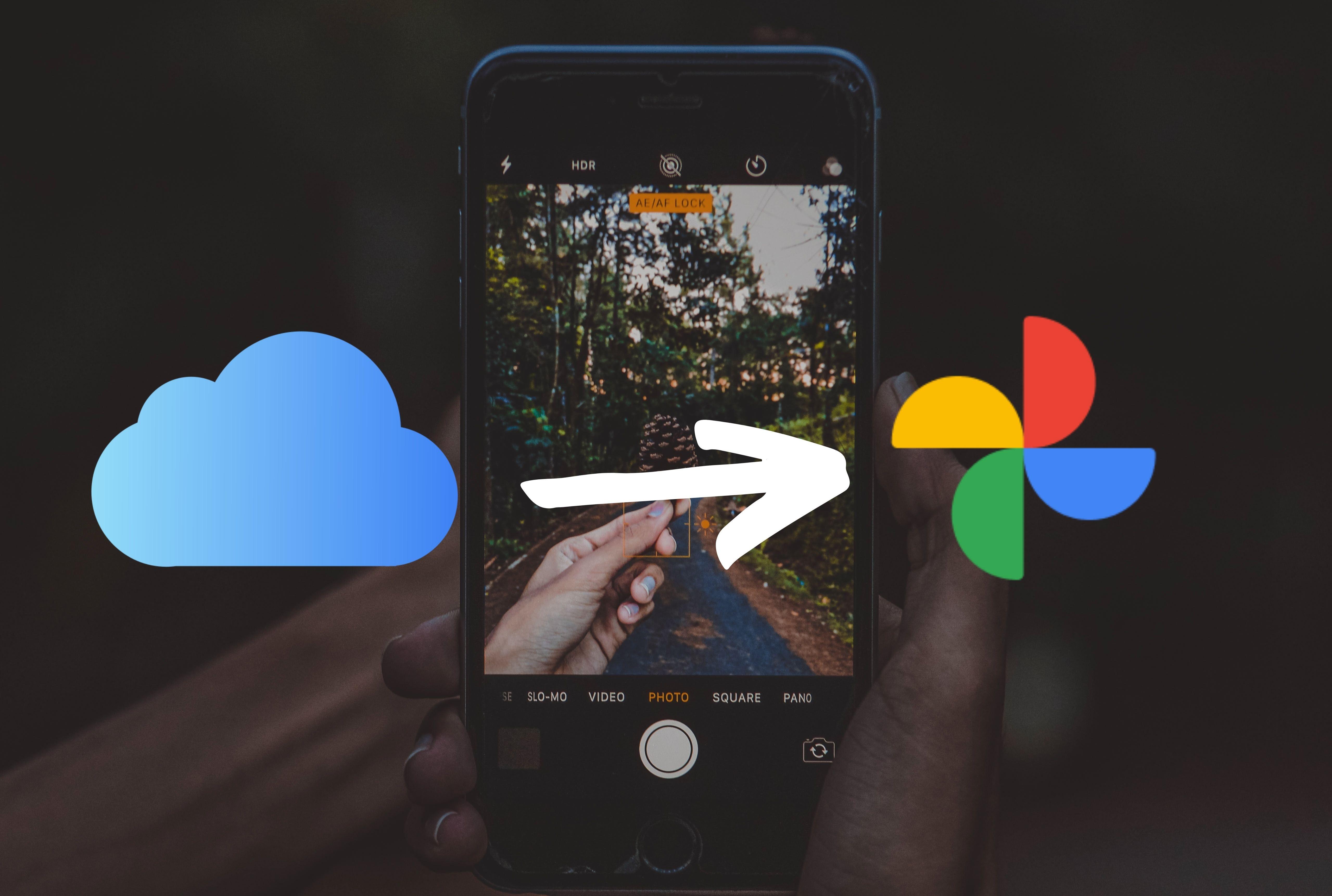 Hogyan lehet fokókat áthelyezni az iCloud Fotók -ról aGoogle Fotók -ba